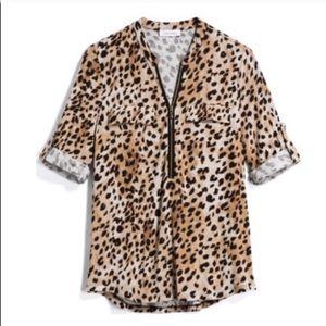 Plus // Leopard Calvin Klein Stitch Fix Top
